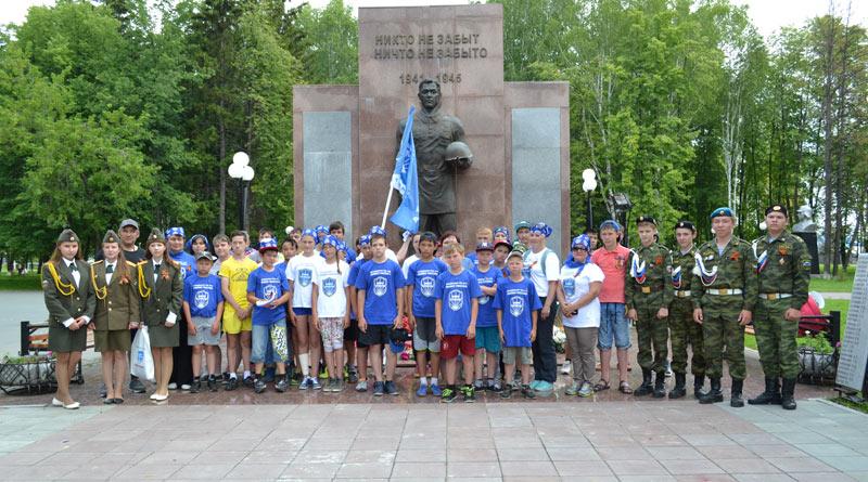 Участники XI районного межрайонного велопробега «Ради жизни на земле»