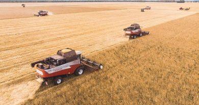 С полей Тюменской области убран весь урожай