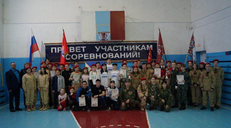 Кубок у дубровинских юнармейцев