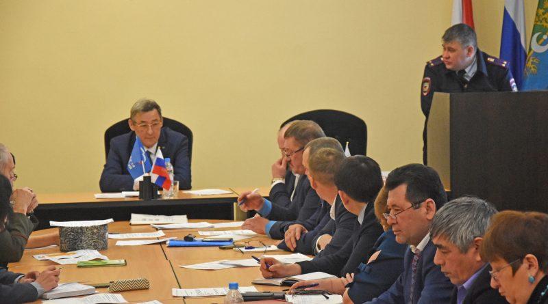 Заседание комиссии по противодействию экстремизму.